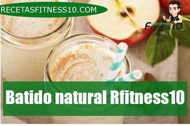 Batido natural Rfitness10