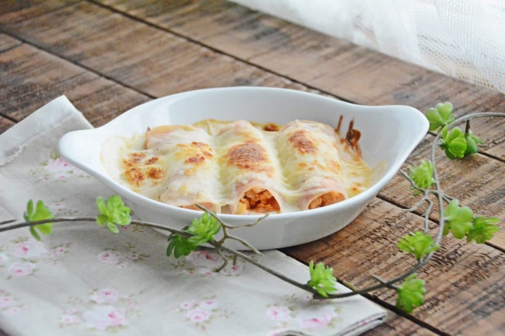 Canelones Fit de Pavo sin pasta
