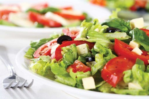 Ensalada de verduras variadas recetas faciles