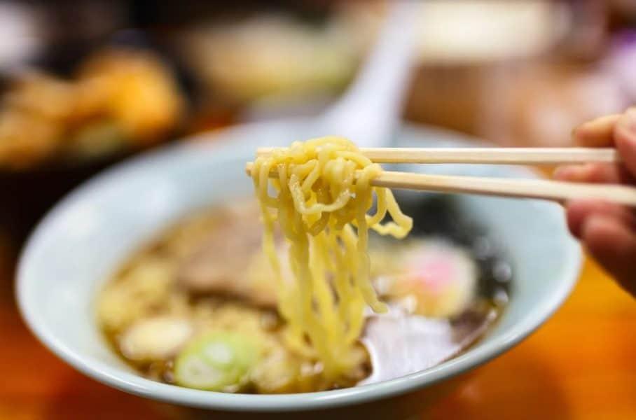 Ramen japones