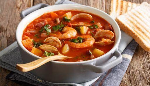 Sopa de marisco | ▷ RECETA ÚNICA ◁ - RecetasFitness10.Com