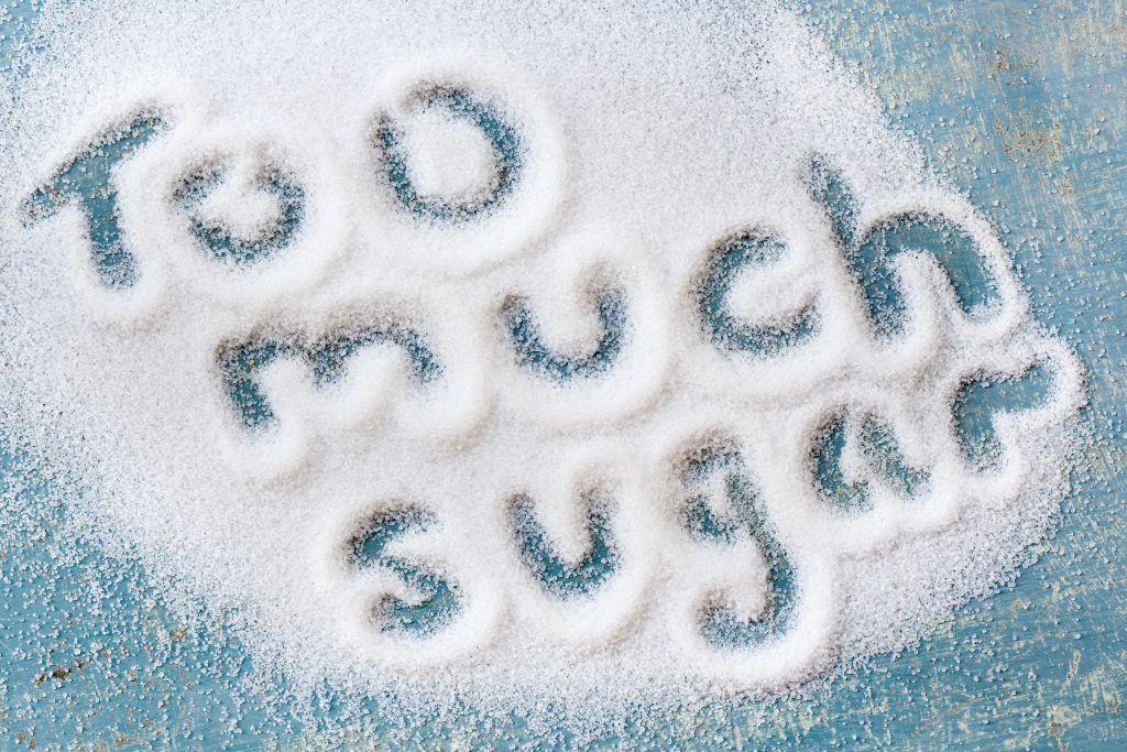 tomar mucho azucar