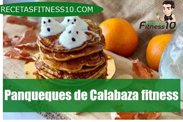 Panqueques de Calabaza fitness