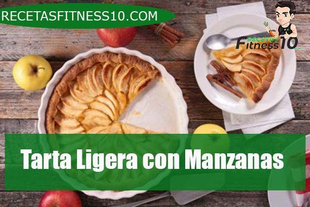 Tarta Ligera con Manzanas