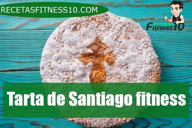 Tarta de Santiago fitness