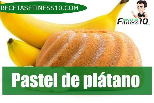 Pastel de plátano