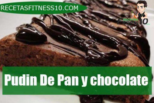 Pudin De Pan y chocolate