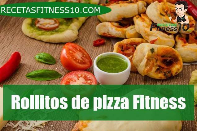 Rollitos de pizza Fitness