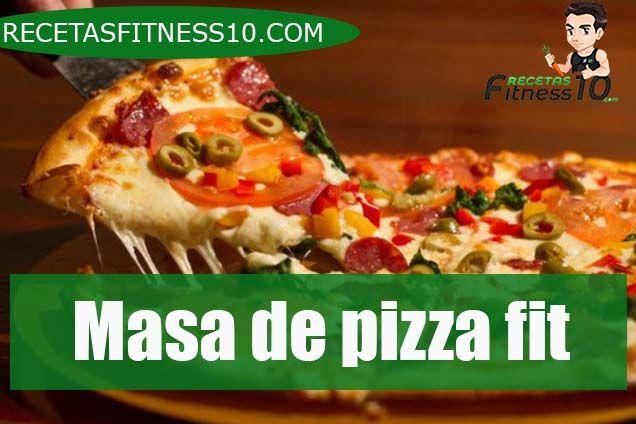 Masa de pizza fit
